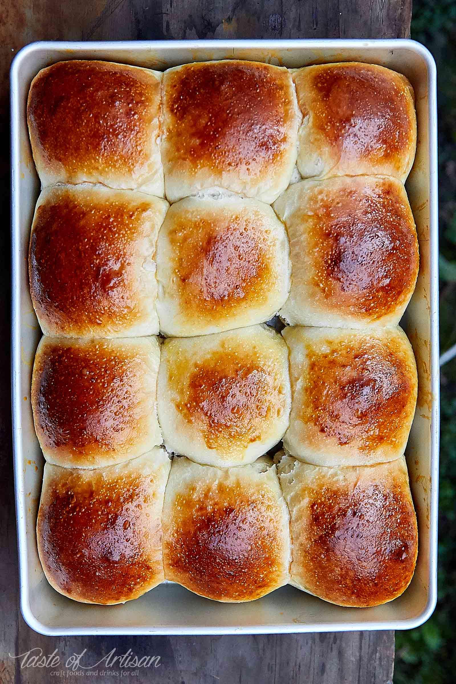 Easy Rustic Yeast Rolls | Taste of Artisan