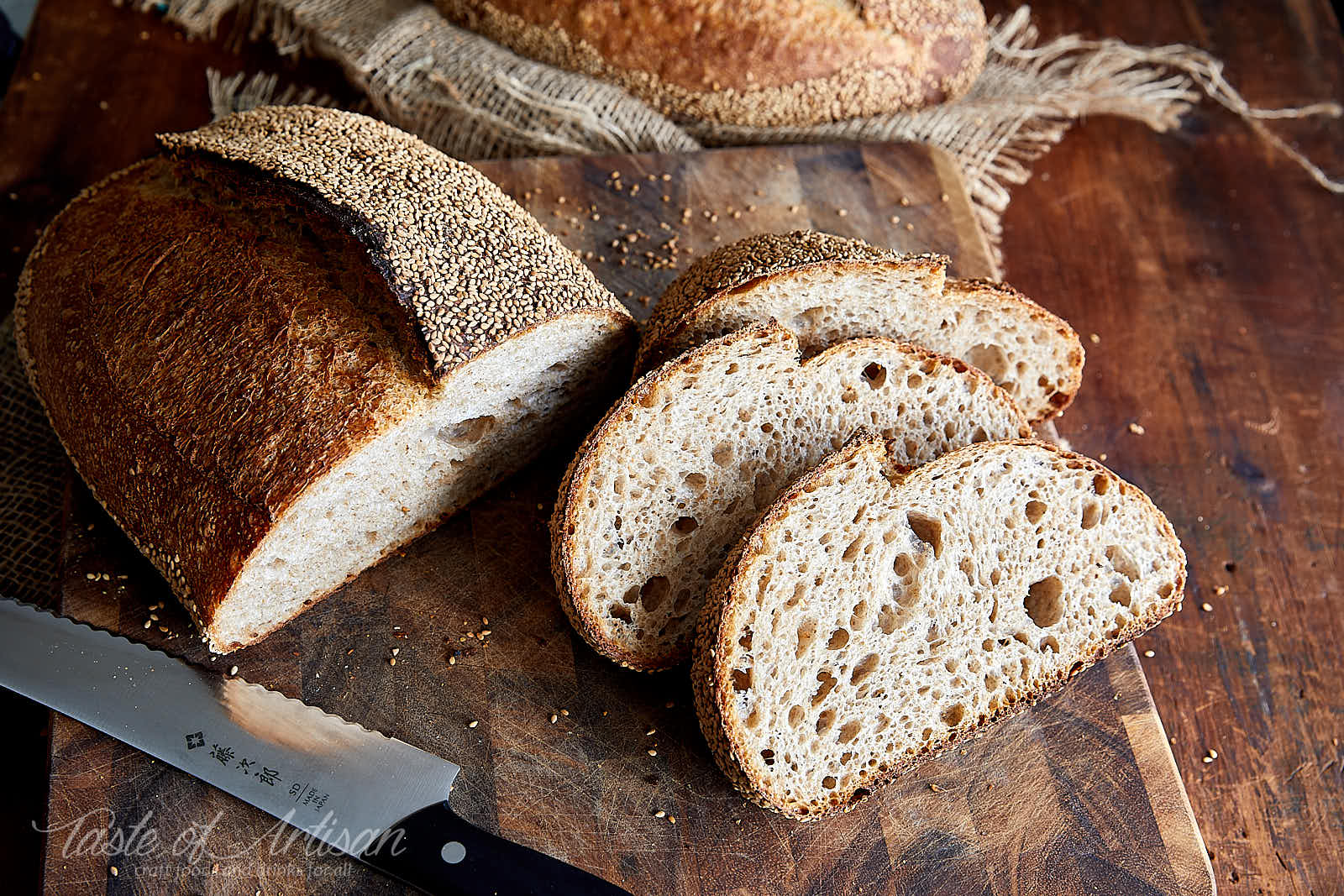 Basic Artisan Sourdough Bread Recipe | Taste of Artisan