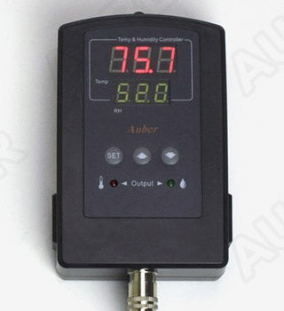 Meat Curing Chamber at home. Auber TH220 Temperature Humidity Controller.   Taste of Artisan