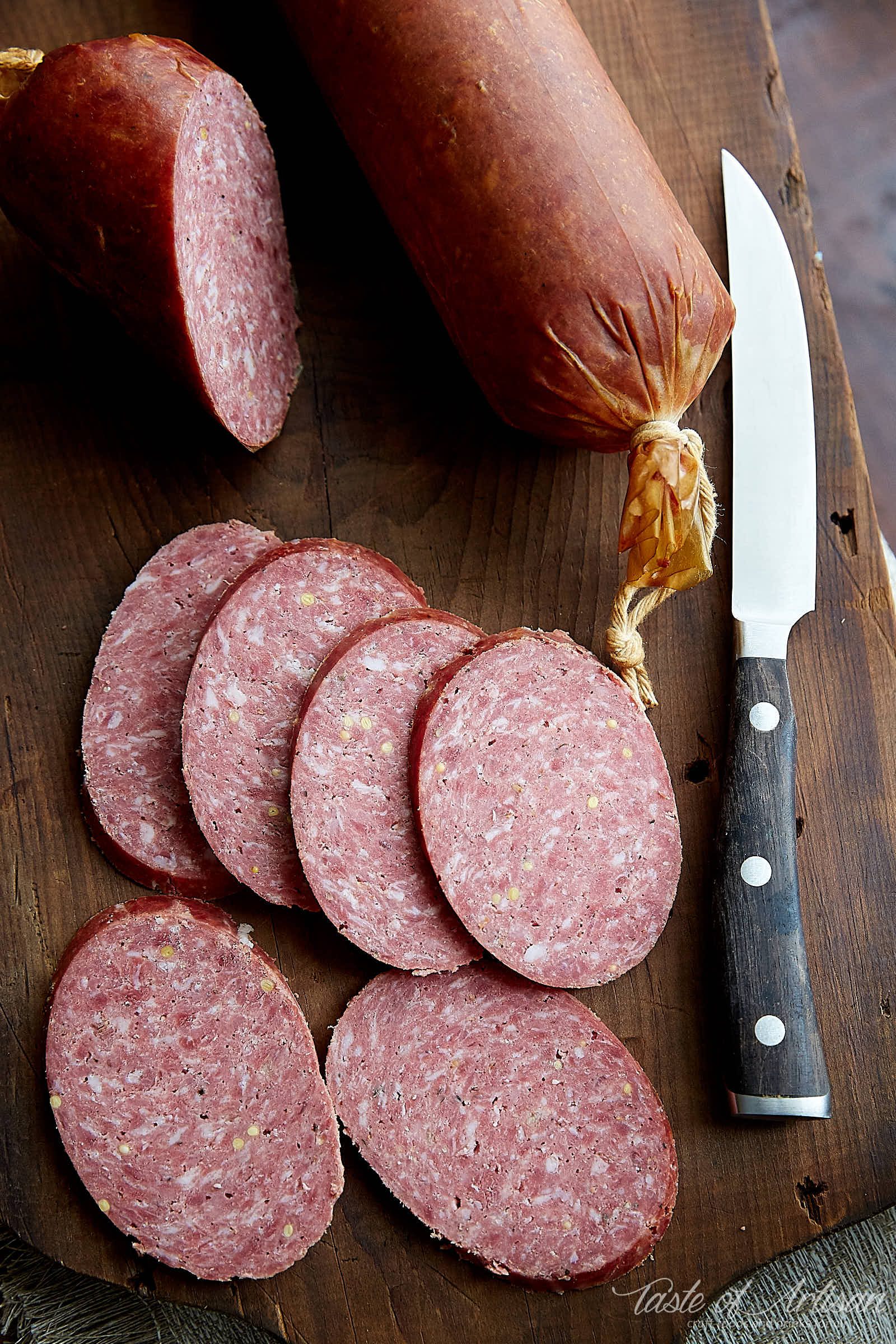 How to Make Summer Sausage - Taste of