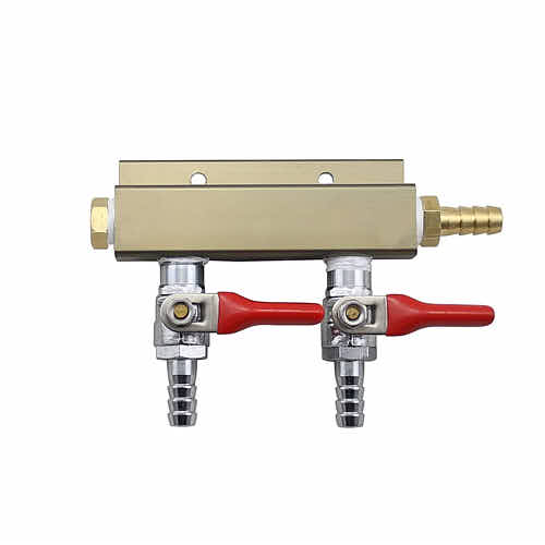 Kegerator CO2 Regulator Dual Manifold - | Taste of Artisan