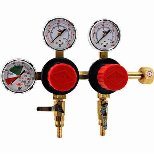 Kegerator Dual CO2 Regulator - | Taste of Artisan