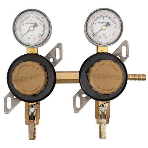 Kegerator Dual CO2 Regulator Secondary Regulator- | Taste of Artisan
