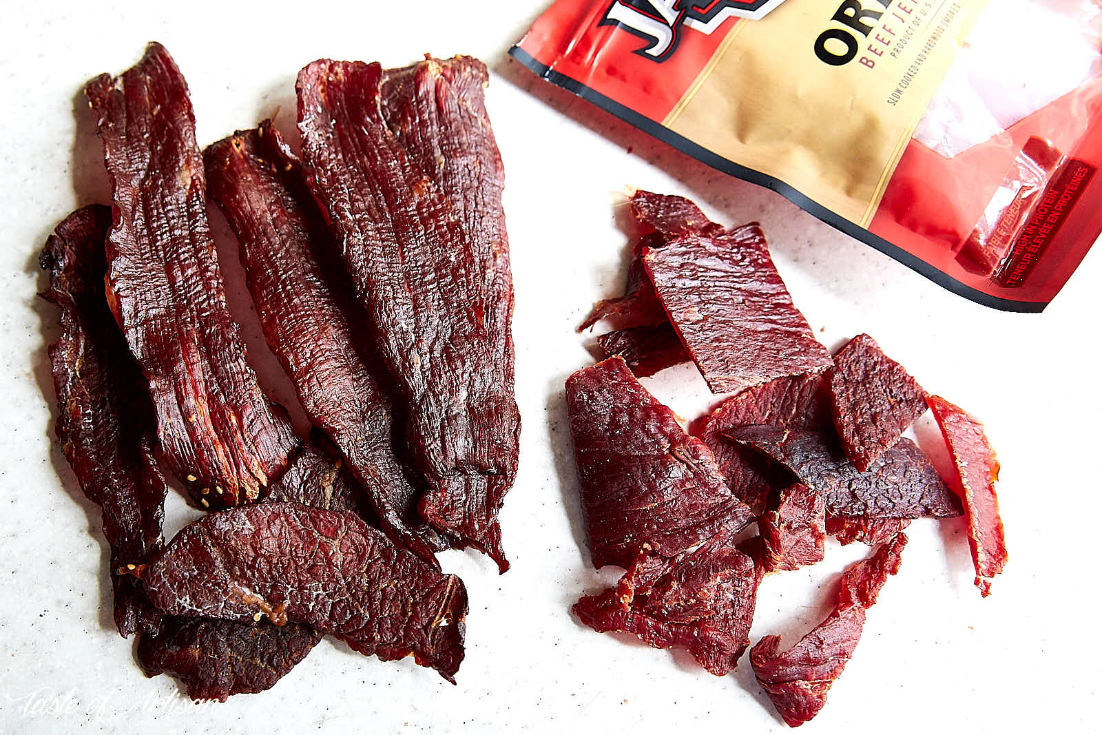 How to make beef jerky in the oven - comparison to Jack Links jerky. | Taste of Artisan