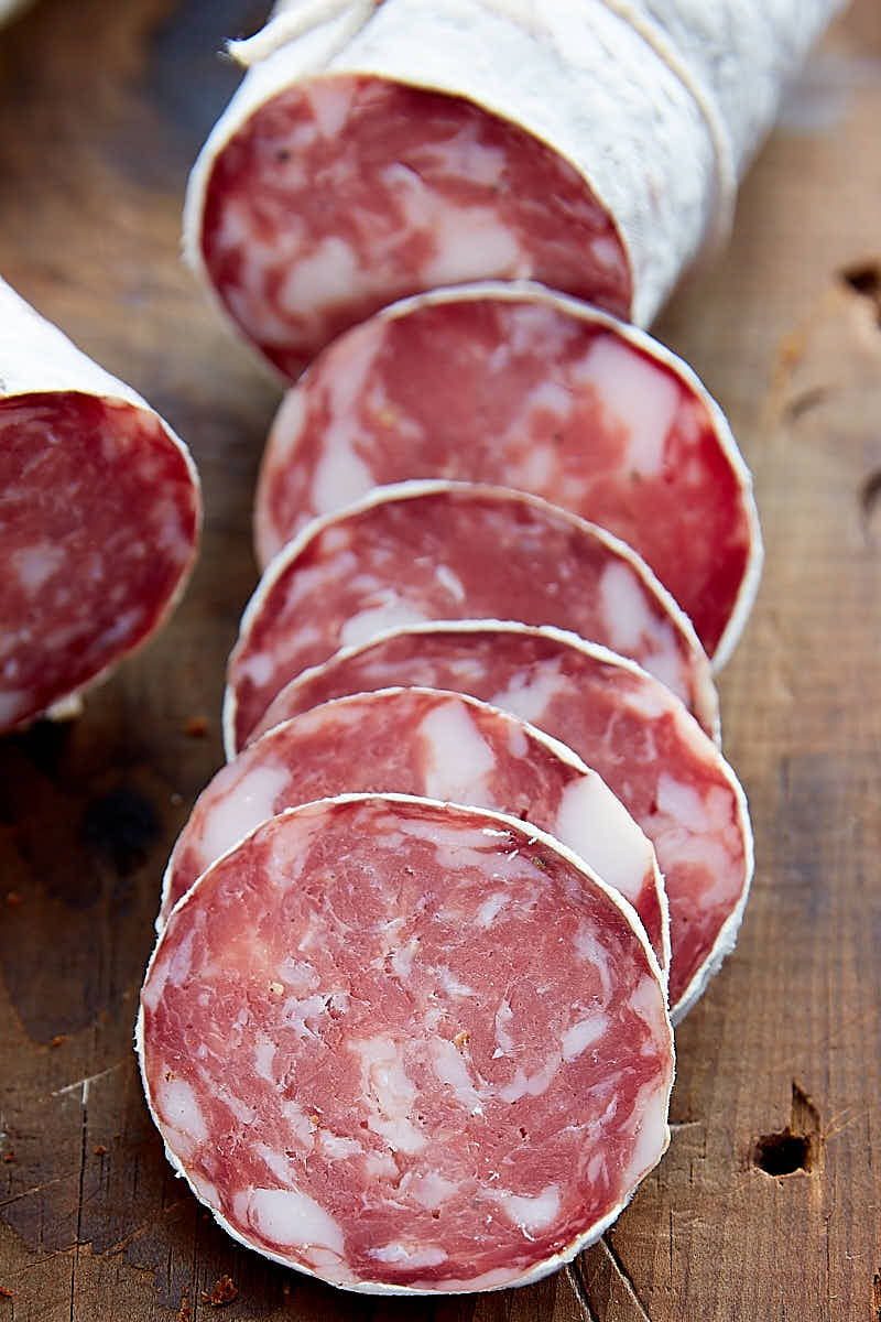 Salami cured in my Advanced Meat Curing Chamber at home. Excellent, predictable results. | Taste of Artisan