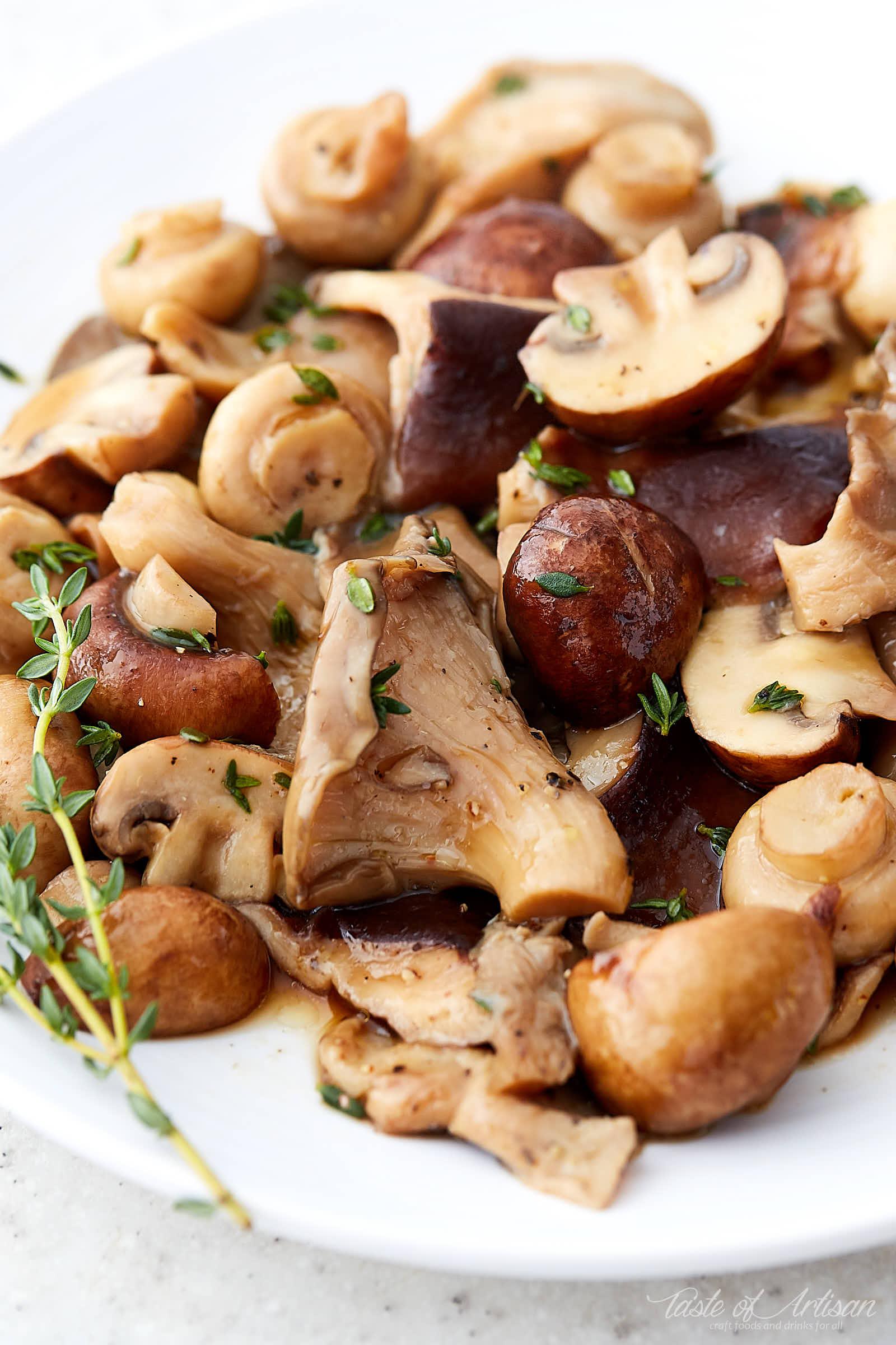 Sous Vide Mushrooms Quick Taste Of Artisan