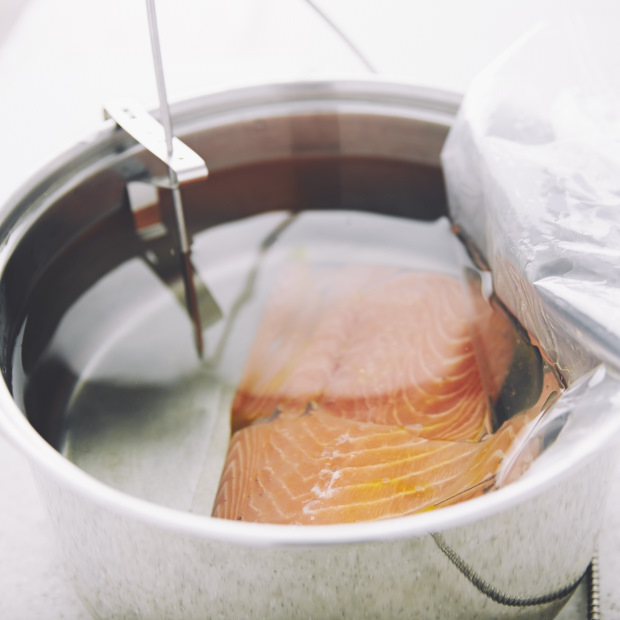 Sous Vide Salmon - cooking without an immersion circulator. | Taste of Artisan