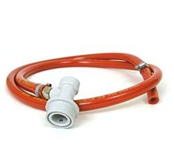 CO2 hose with connectors
