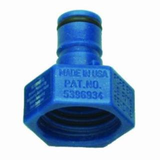 blue carbonator cap