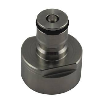 stainless carbonator cap