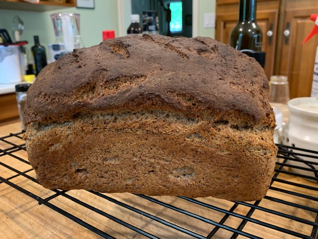 Country flax seed bread