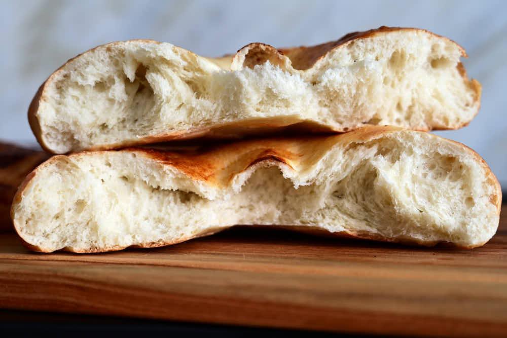 Uzbek bread crumb