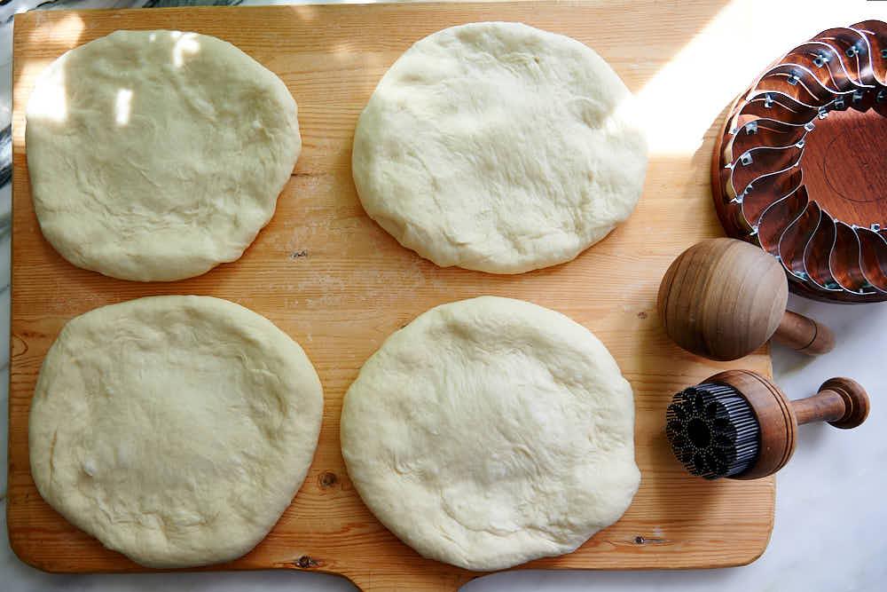 Uzbek bread stamp - kechich.