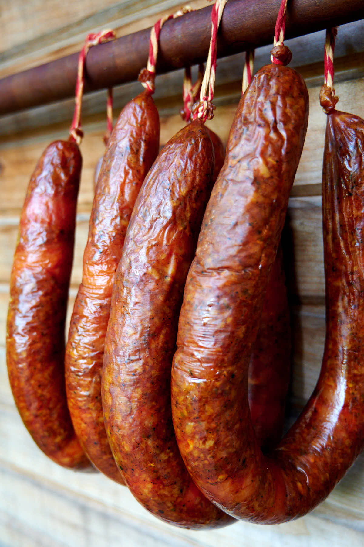 Homemade Chicken Andouille Sausage By the Smokehouse